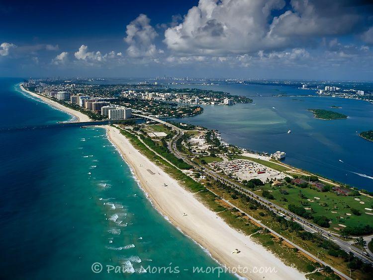 Aerial Of Haulover Beach Miami Morphoto Miami Beach Beach Scenery Beach