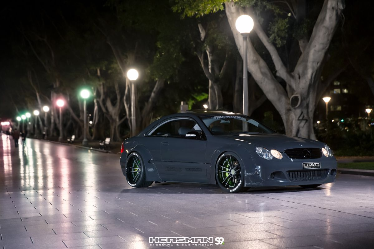 Featured fitment clk55 amg by heasman steering chris vella
