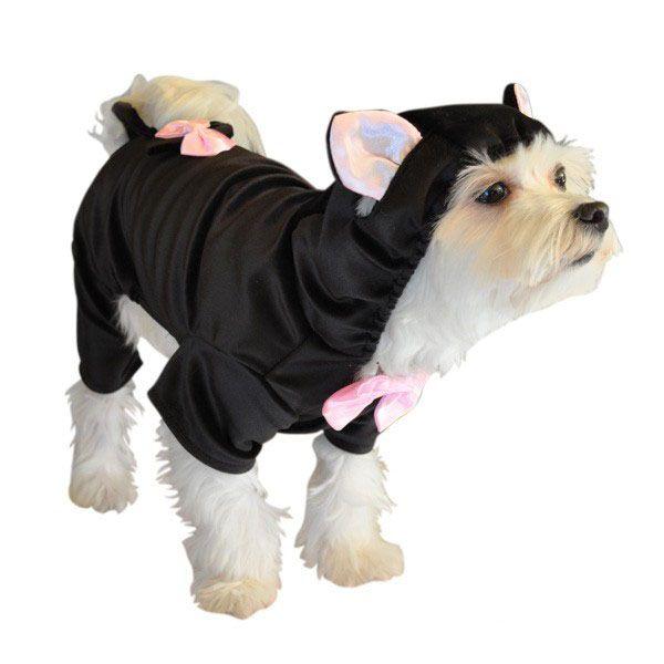 Black Cat Costume For Dogs Cat Dog Costume Dog Halloween
