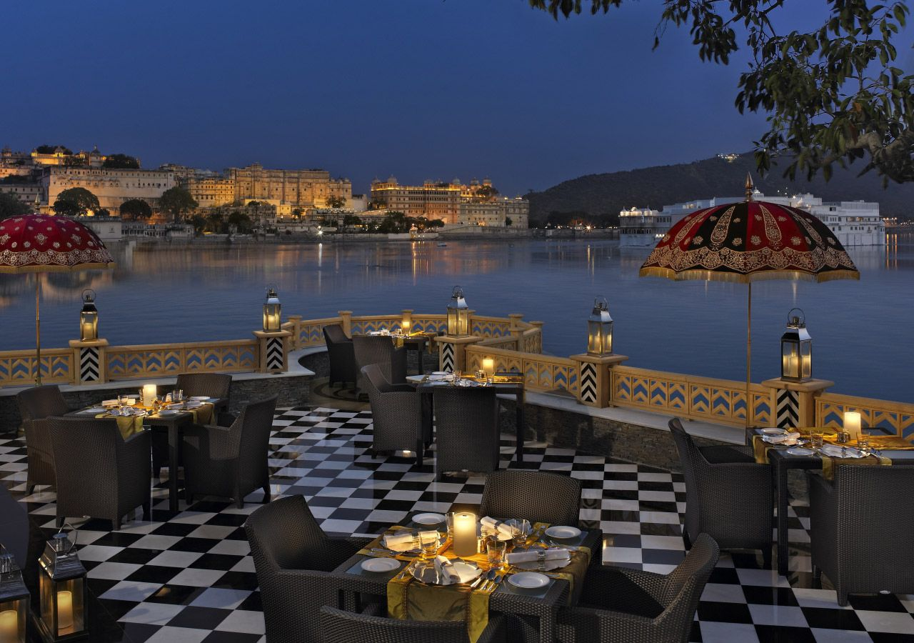 Photo And Video Gallery The Leela Udaipur Luxury Hotel Pictures And Videos Romantic Restaurant Romantic City Udaipur