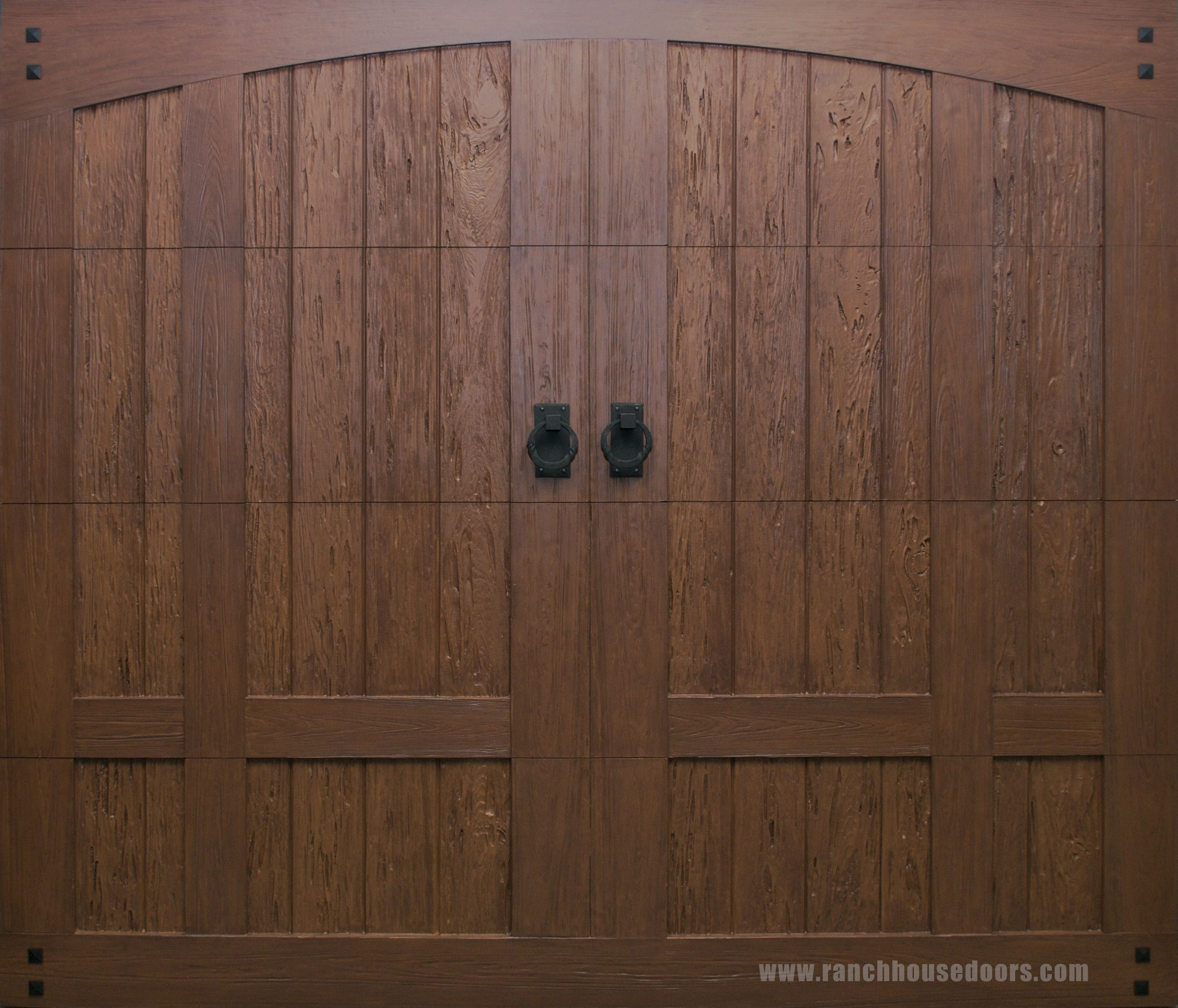 Ranch House Doors Model 303 Elements Collection faux wood ...