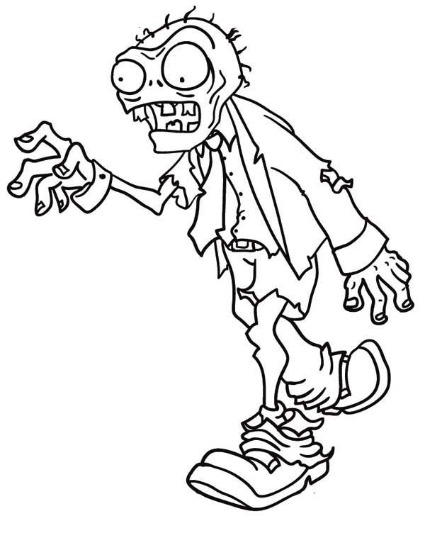 Top 20 Zombie Coloring Pages For Your Kids Disney Coloring Pages