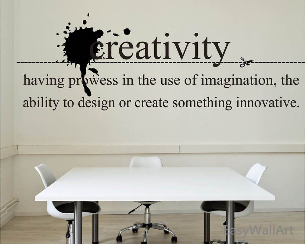 23 Creative Wall Decals Ideas For Office 14 Is Most Inspiring