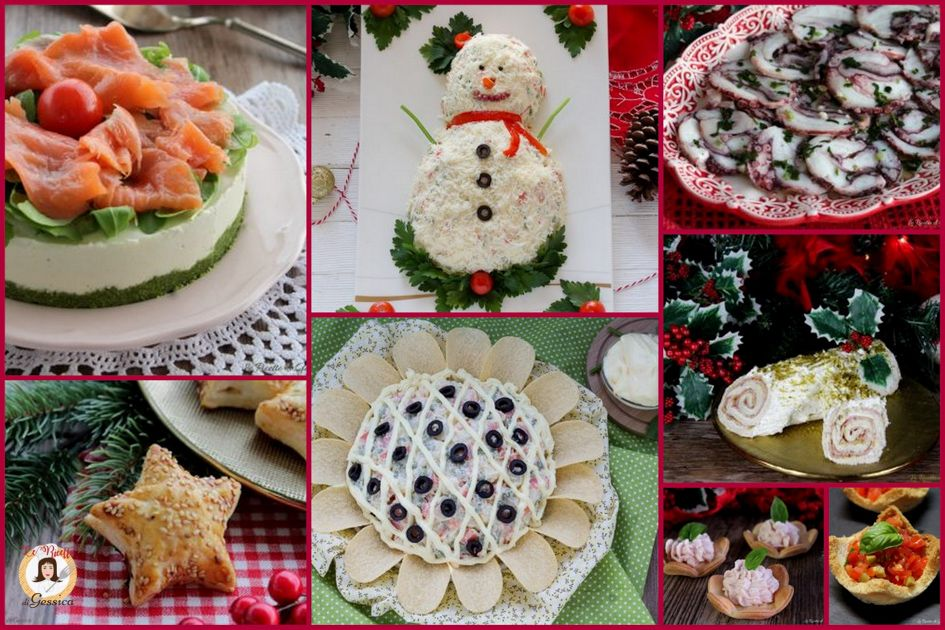 Antipasti Per Natale Di Carne.Antipasti Di Natale Ricette Facili Veloci Sfiziose Di Carne O Pesce