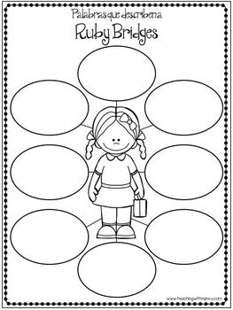 Ruby Bridges En Espanol Graphic Organizers Black History