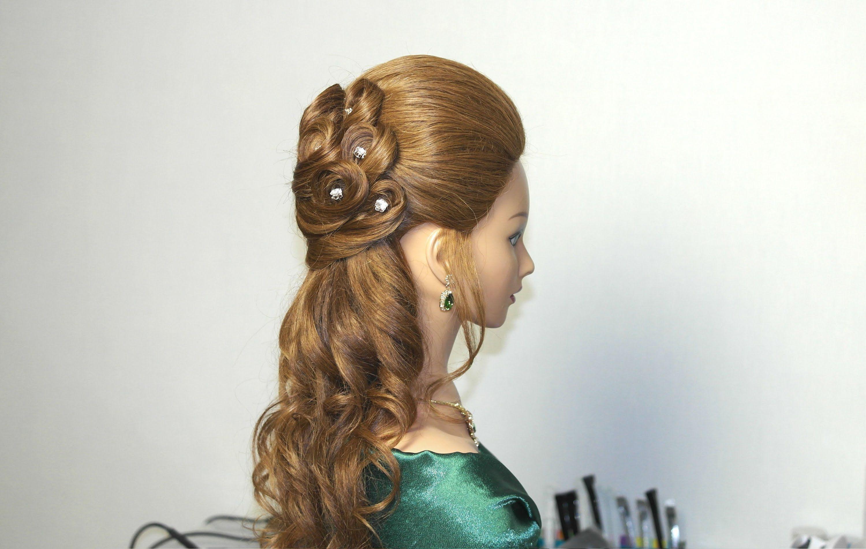 Wedding prom hairstyles for long hair. Bridal hairstyles | Hair ...