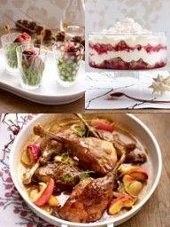 Weihnachtsmenü Einfach.Weihnachtsmenüs Rezepte Von Einfach Bis Raffiniert Festliche