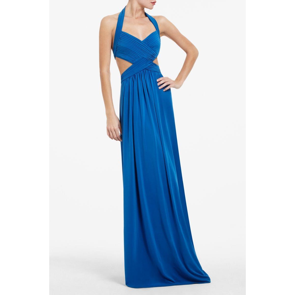 BCBG Long Blue Dress