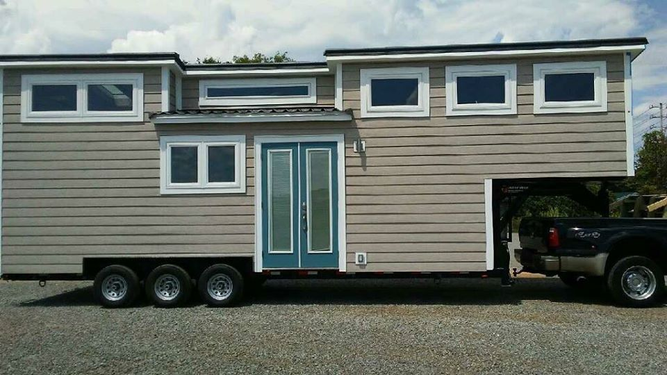 The Lookout a beautiful tiny house on wheels from Tiny House