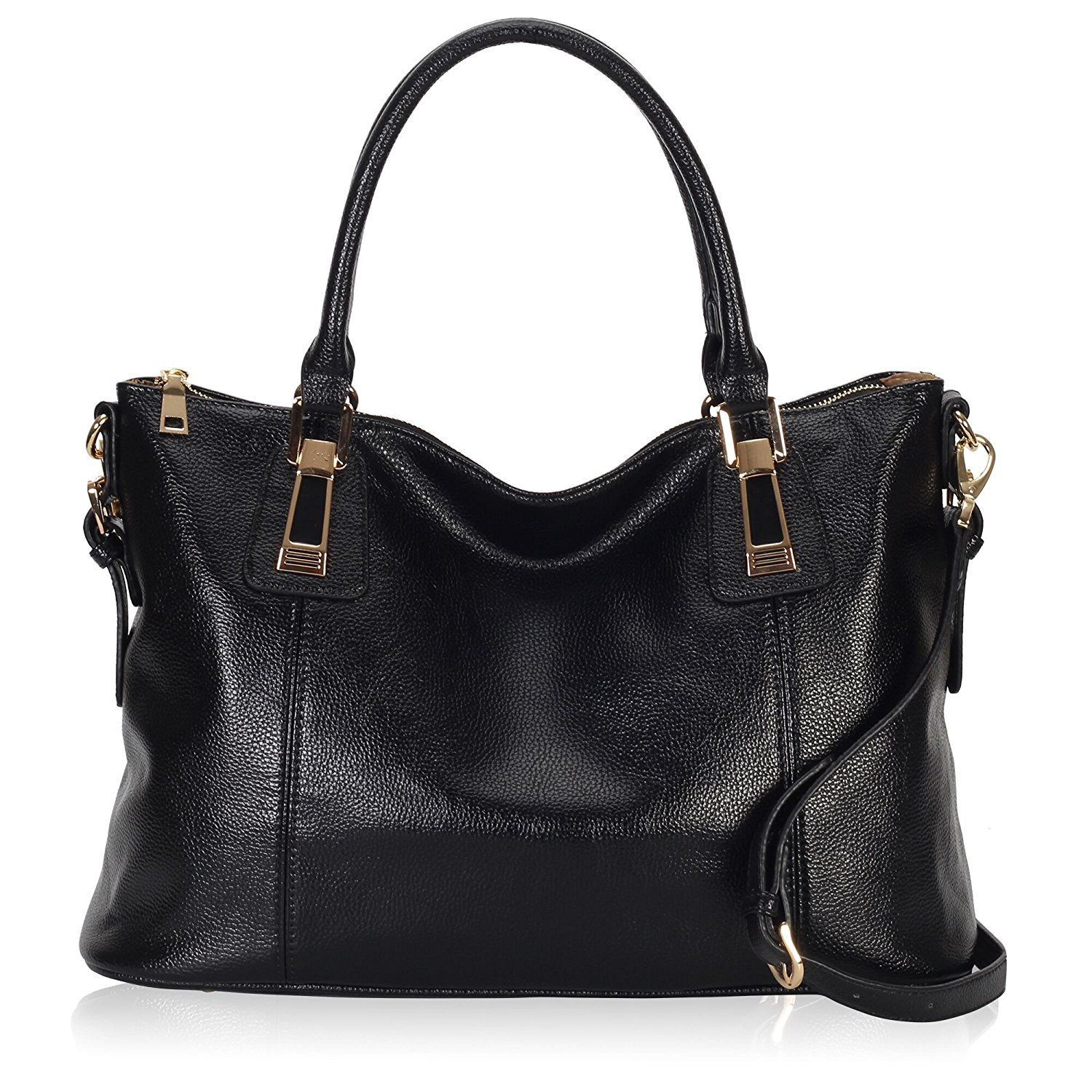 Veevan Large Faux Leather Handbag Ladies Women Bag Tote Plain Shoulder Bag(Black)   Amazon.co.uk  Shoes   Bags. UK handbag. UK handbags. Women handbag. 7f1fd3d56