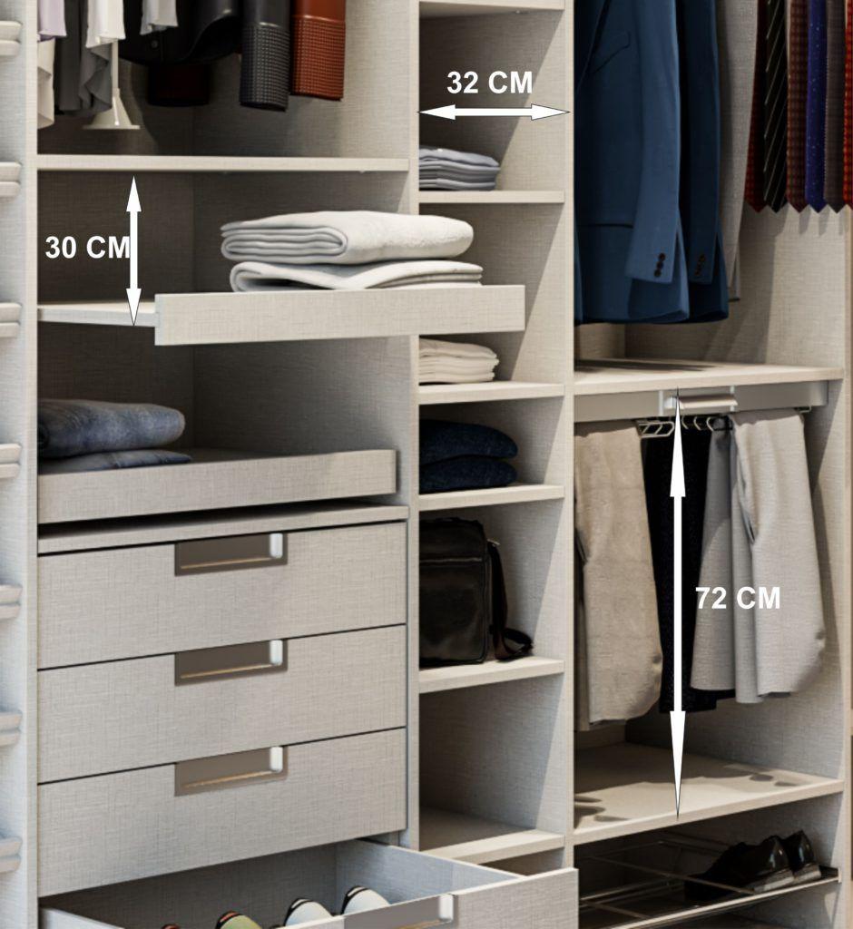 Diseñar, distribuir, y planificar los armarios empotrados | Lola ...
