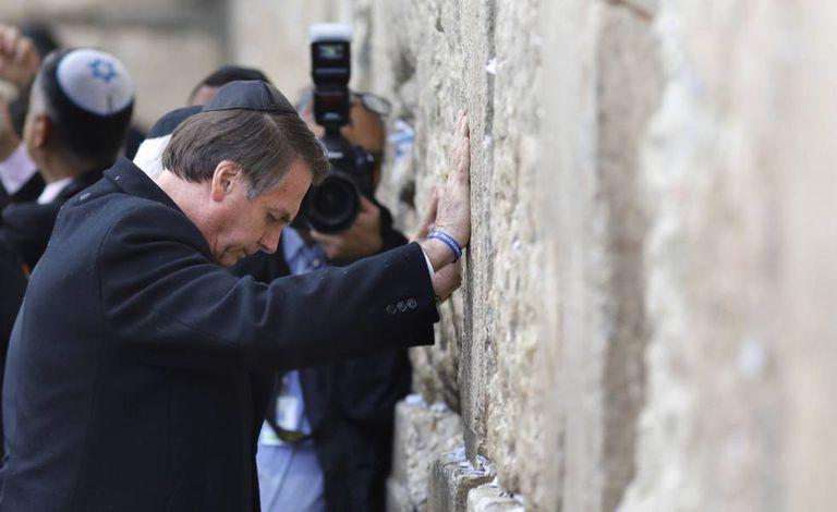 Bolsonaro Reforca Intencao De Transferir Embaixada Em Israel