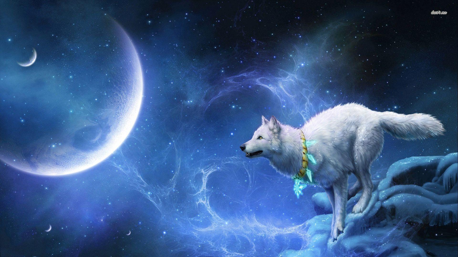 blue moon wolf wallpaper - photo #21