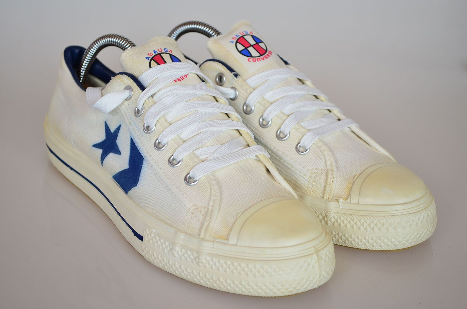 e6daccdd68c9 Vintage 70 s Converse All Star ABA Low Top Sneaker Made in USA Size 7.5