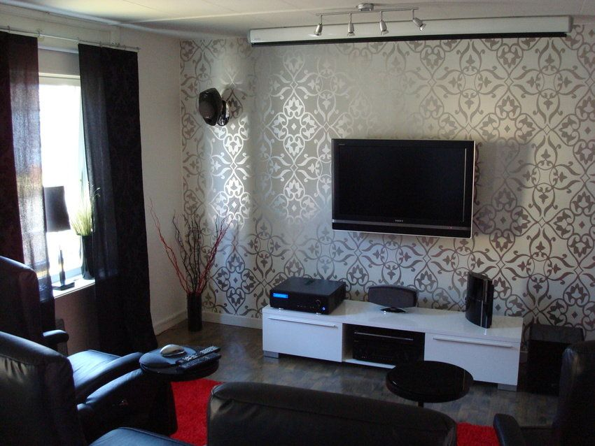 Best Living Room Wallpaper Designs Prepossessing Wallpaper Design For Living Room That Can Liven Up The Room Inspiration Design