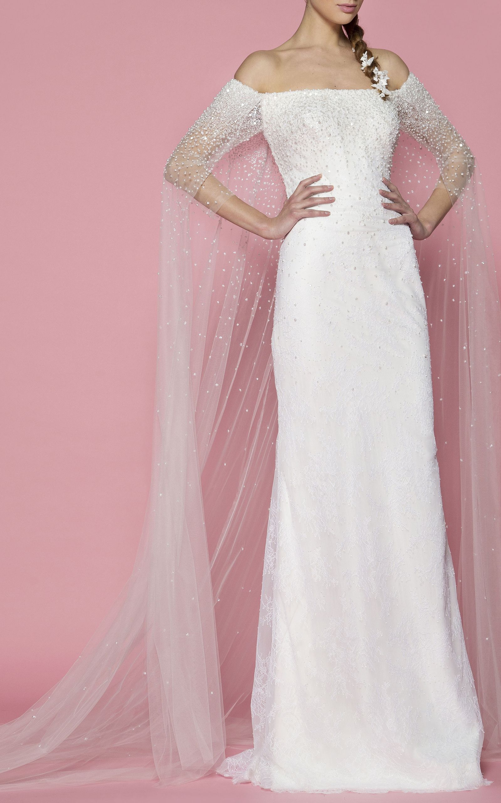 The Hazel by GEORGES HOBEIKA for Preorder on Moda Operandi | Wedding ...