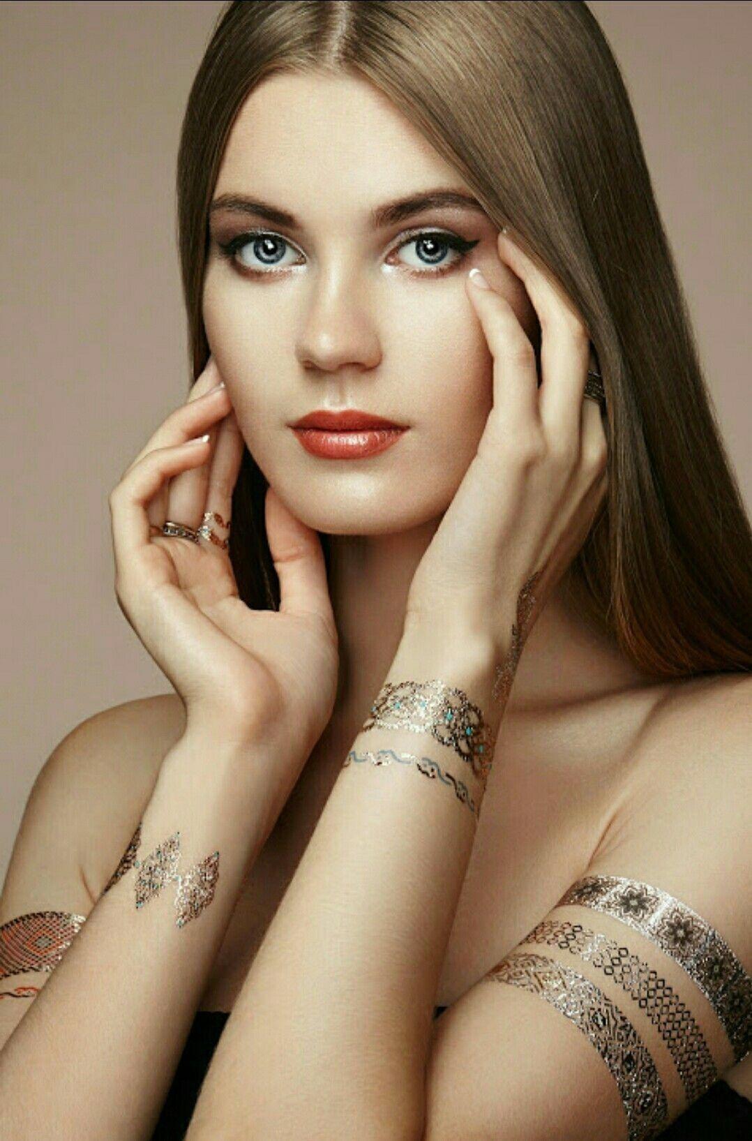 8f9f47fea0f5 The enchanting Lily of the Valley, Russian model Alexandra Brutskaya ...