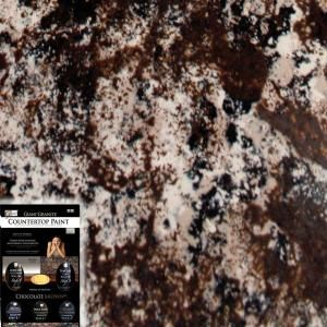 Make Your Countertops Look Like Granite With Paint! Giani Granite Chocolate  Brown Countertop Paint Kit FG GI CH BR KIT At The Home Depot