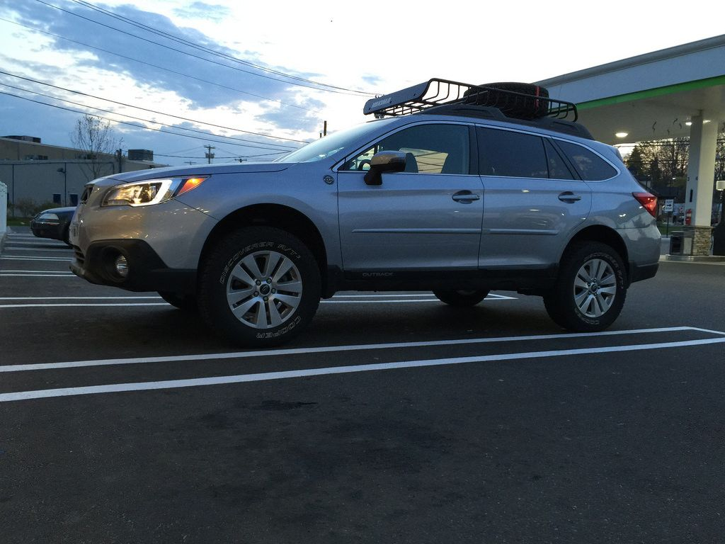 The schwager familys new outback 2015 outback with lift vanachro Choice Image