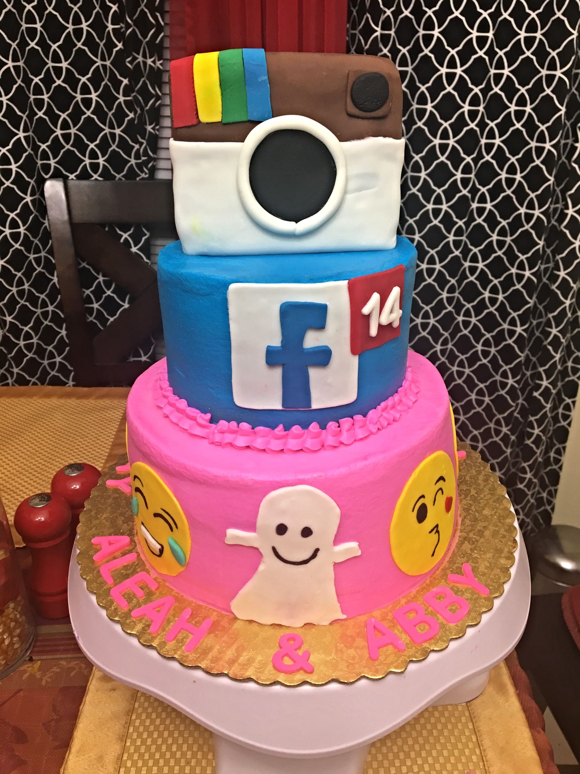 List Of Synonyms And Antonyms Of The Word Instagram Birthday Cakes