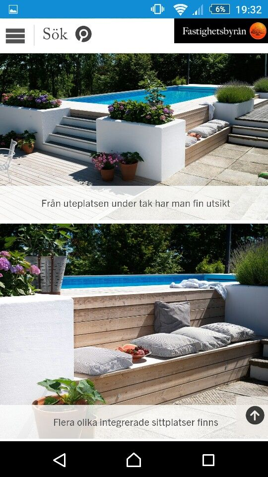 Terrasse Bois Surélevée En Kit Upphöjd Pool | Pools | Piscine Maison, Amenagement Piscine