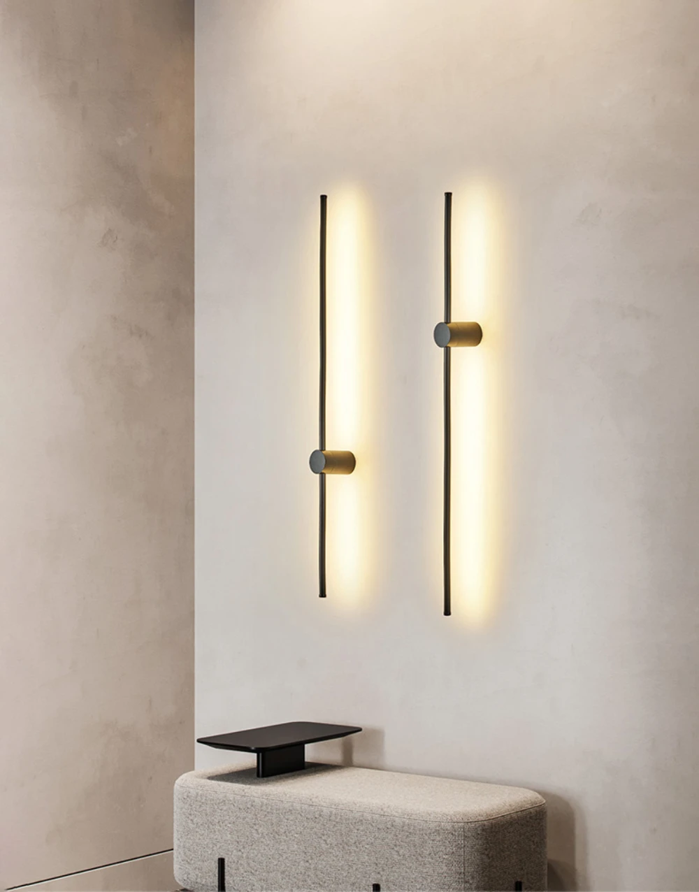 Linear Led Wall Light Mooielight In 2020 Wall Lights Interior Wall Light Fixtures Home Lighting Design