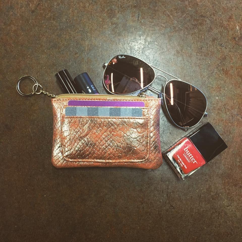 Orange Lexy Wallet