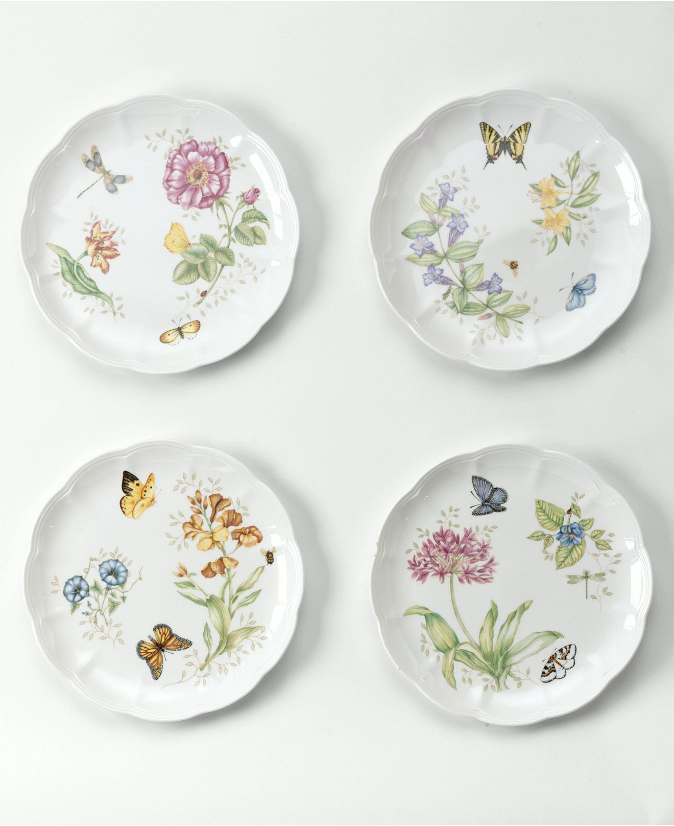 Lenox  Butterfly Meadow  Dinner Plate  sc 1 st  Pinterest : casual dinner plates - pezcame.com