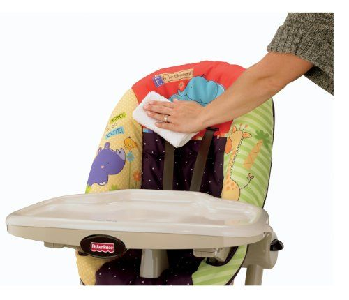 Shop Fisher-Price Luv U Zoo EZ Clean High Chair online at lowest ...