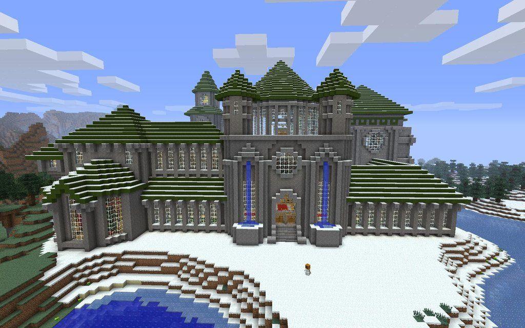 Minecraft Castle Minecraft Minecraft Häuser Und Minecraft Bauen - Minecraft hauser zeichnen