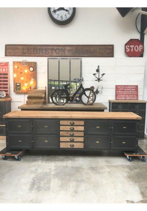Exemple Fabrication D'Un Grand Meuble Tv | Industrial Furniture