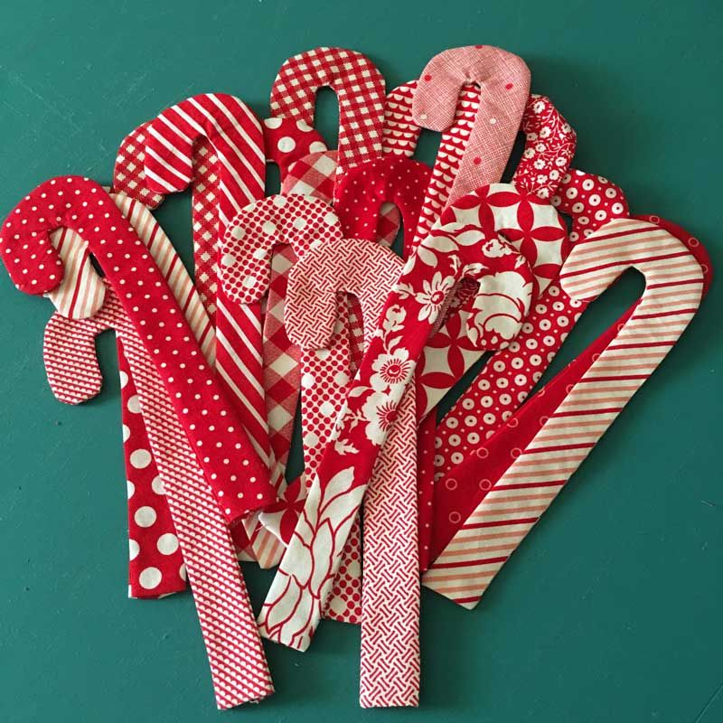 Christmas In July  Candy Canes Free Pattern Modafabrics  Moda