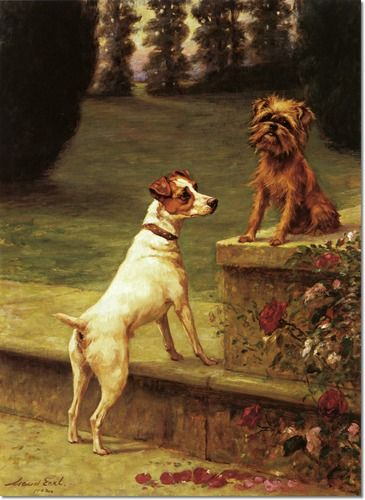 Maud Earl - Playmates 1902 Painting