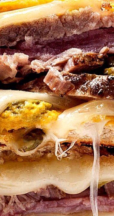 Slow Cooker Cuban Sandwiches #cubanrice