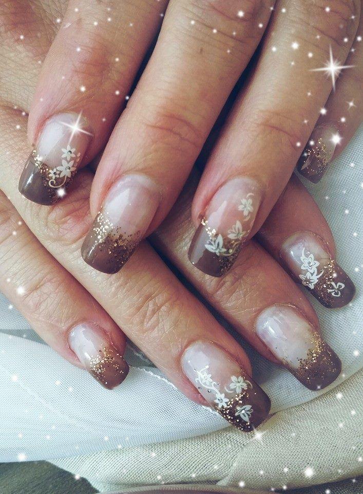 Nageldesign Von Jananails Glitter Nails Pinterest Nails Nail