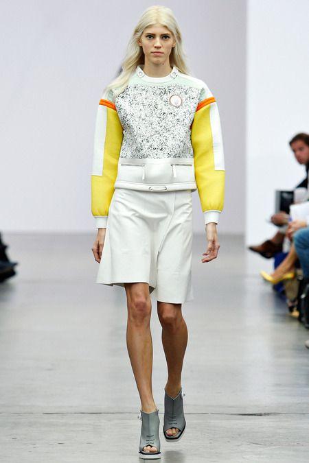 Amber Russian Constructivist inspired fashion after  Varvara Strpanova  Iceberg…