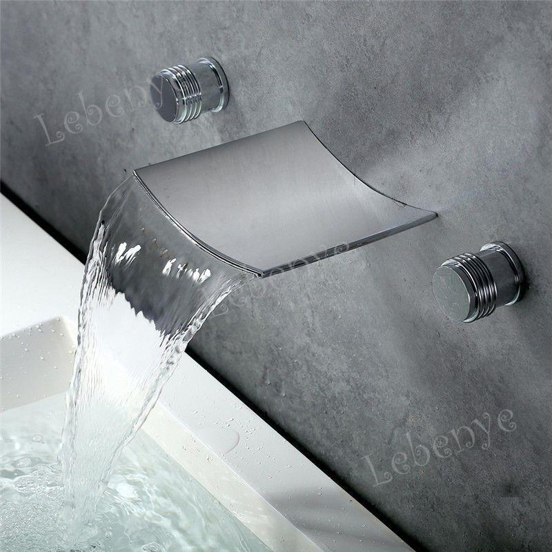 Design Unterputz Mischbatterie Wasserhahn Wasserbecken Badarmatur