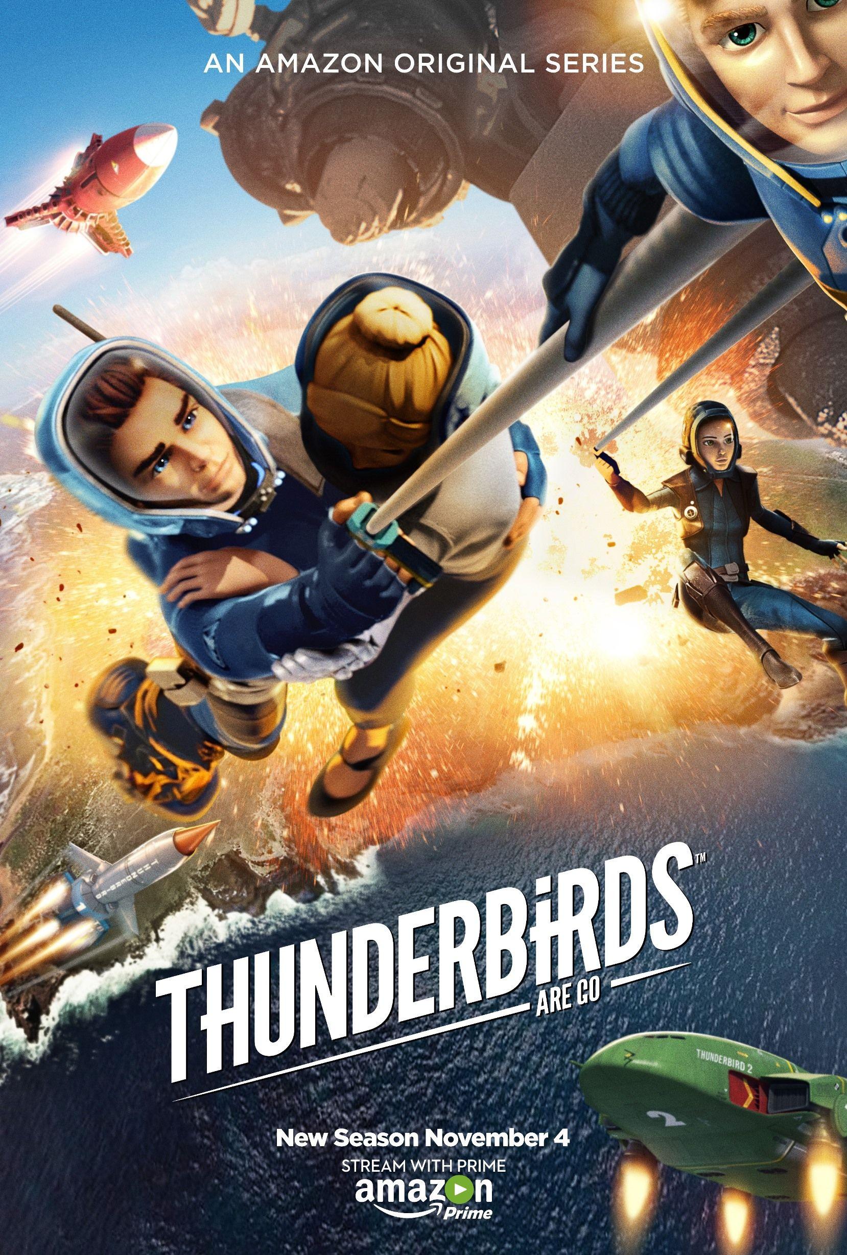 First Look At Thunderbirds Are Go Season 2 Thunderbirds Are Go