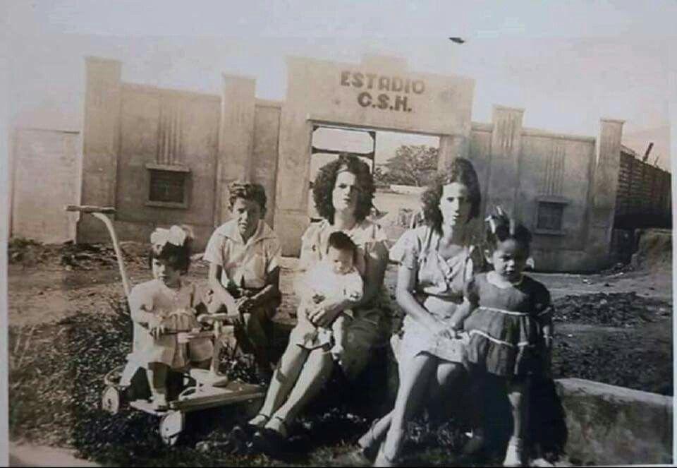 ESTADIO EN CONSTRUCCION,HEREDIA,1948.