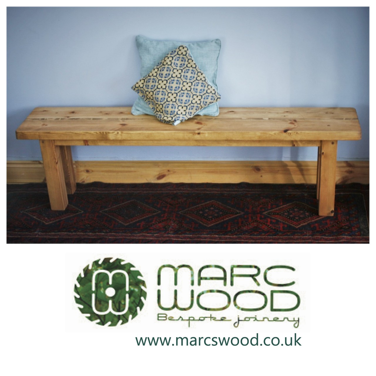 Our Latest Bench Seat Has Been Designed By Marc To Fit With Our Modern Rustic Furniture Collection Modern Rustic Furniture Handmade Furniture Furniture