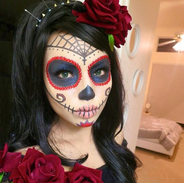 Catrina. Sugar Skull ...  sc 1 st  Pinterest & Catrina | Halloween | Pinterest | Sugar skulls Sugaring and ...