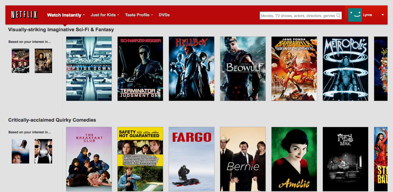 Netflix has nearly 77,000 secret genre codes hidden away