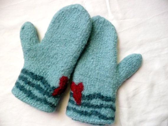 Hey, I found this really awesome Etsy listing at https://www.etsy.com/listing/206133225/handmade-felted-mittens