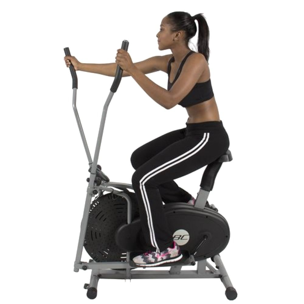 Elliptical Aero Air Exercise Cardio Fitness Workout Home Treadmill Cross Trainer