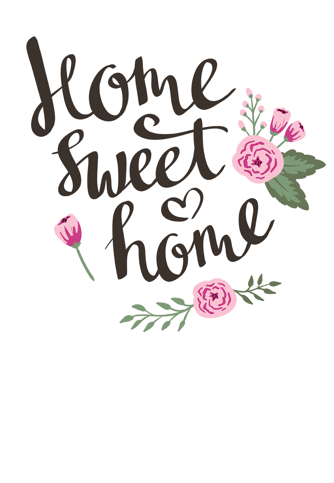 Still Home  Free Printable Housewarming Invitation Template