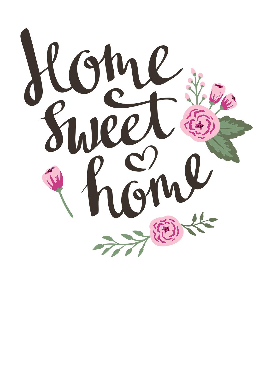 Still Home Free Printable Housewarming Invitation Template