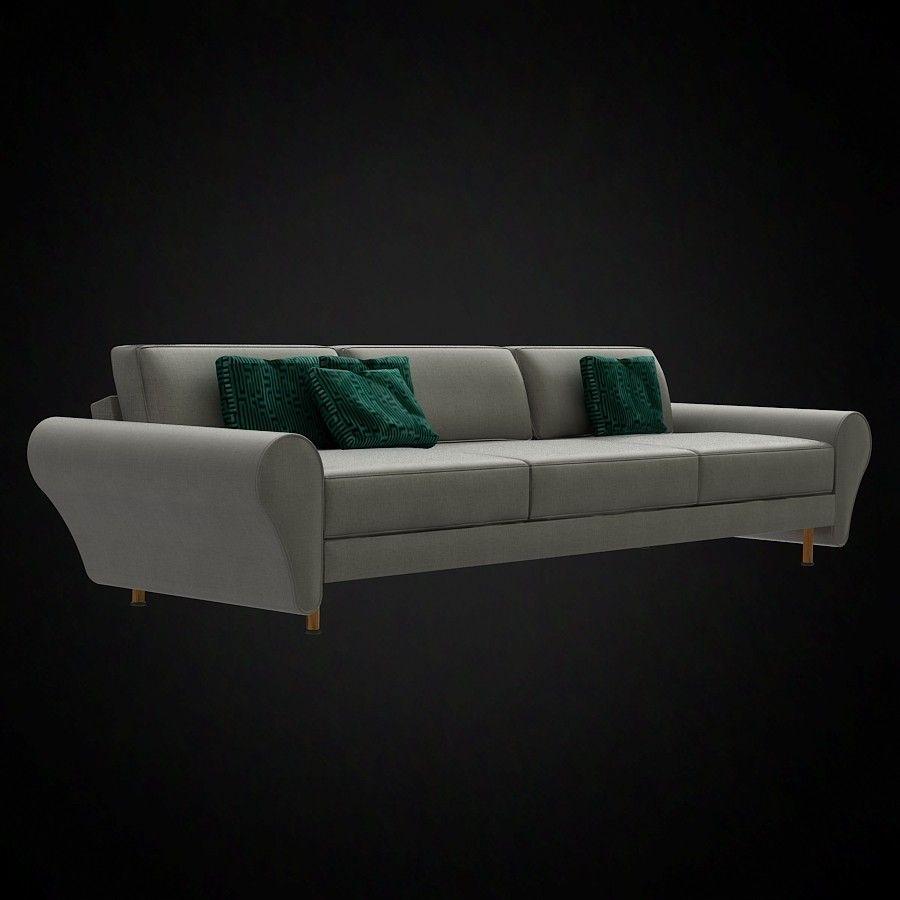 Giorgetti Morris 3 Seater Sofa