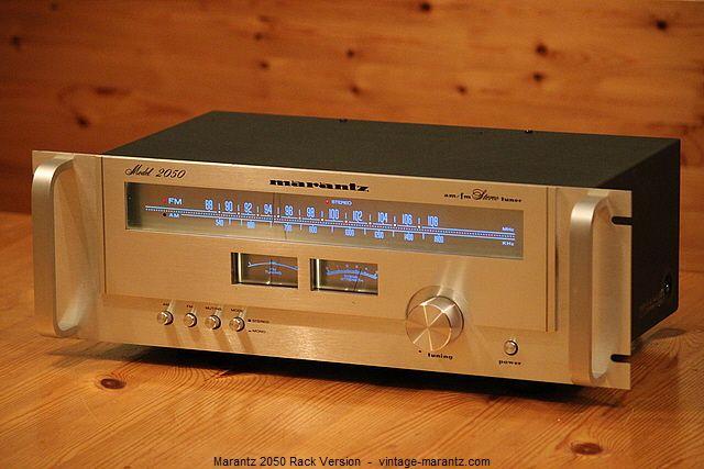marantz 2050 rack version vintage tuner pinterest audio rh pinterest com
