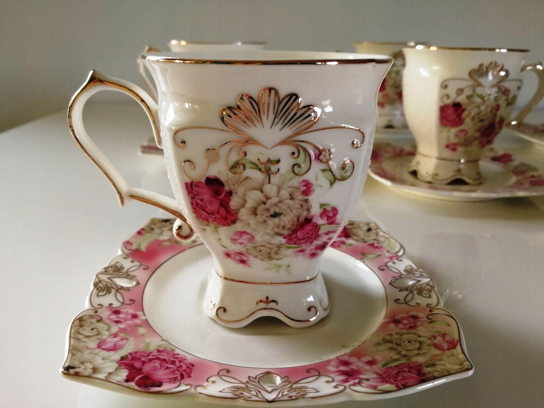 Filizanki Do Kawy Herbaty Zellerfeld 12 Elem Duze 7202753141 Oficjalne Archiwum Allegro Mad Hatter Tea Party Tea Cups Mad Hatter Tea