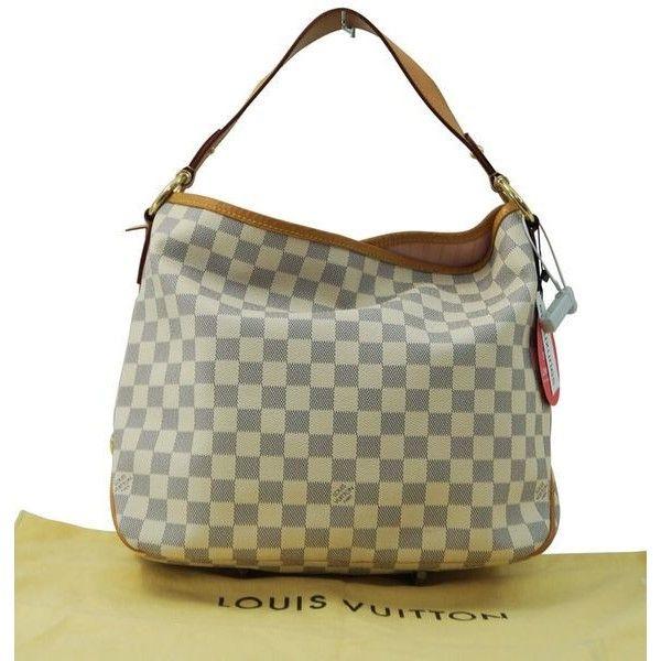 7ced774b1cd0 Pre-Owned Authentic Louis Vuitton Damier Azur Delightful Pm Nm... ( 1